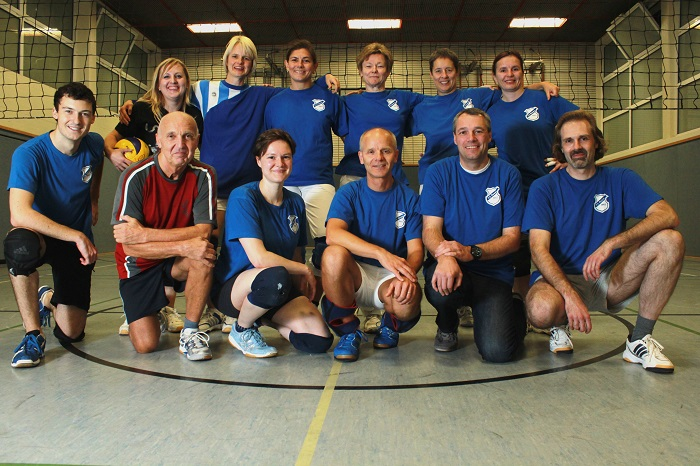 Gruppenfoto Volleyball Mixed 15+ (2013)